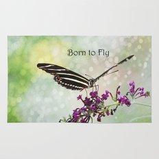 Born to Fly Rug