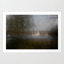 Movement in Nature VI Art Print
