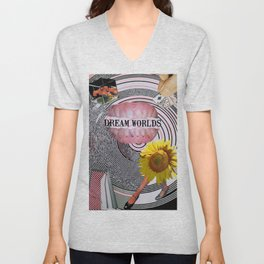 Dream Worlds Unisex V-Neck