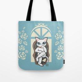 Rattan chair Tote Bag