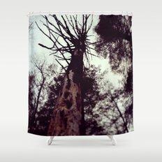 Dead Tree Shower Curtain
