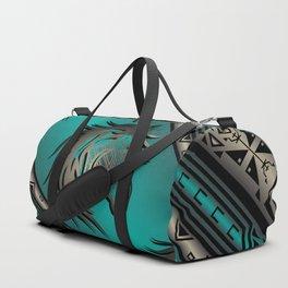 Horse Nation (Aqua) Duffle Bag
