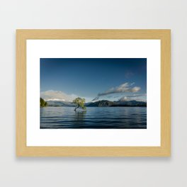 Waterscape V Framed Art Print
