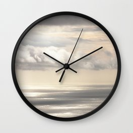Painterly View - from Funchal Madeira - JUSTART © Wall Clock