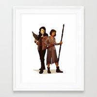 korrasami Framed Art Prints featuring Korrasami Crossover by Nymre