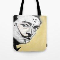 dali Tote Bags featuring Dali by Dano77