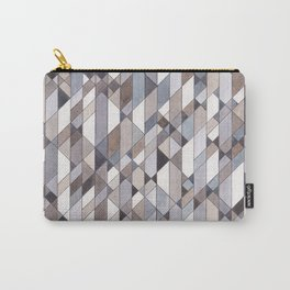 Triangle Pattern no.22 grays Carry-All Pouch