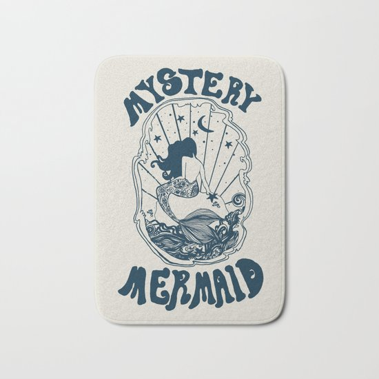 MYSTERY MERMAID Bath Mat