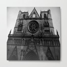 Dark church Metal Print