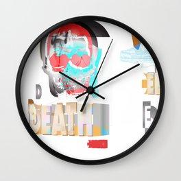 DEATH BECOMES U Wall Clock