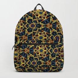 Beadwork Inspired Pattern Backpack