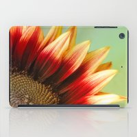 sunflower iPad Cases featuring Sunflower by Wood-n-Images