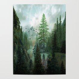 Mountain Morning 2 Poster
