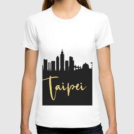 TAIPEI TAIWAN DESIGNER SILHOUETTE SKYLINE ART T-shirt