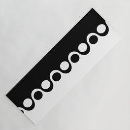 Black and White Mod Yoga Mat