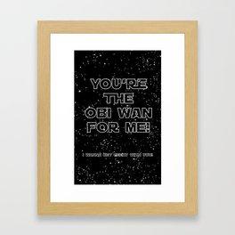 Star Crossed lovers 3 Framed Art Print