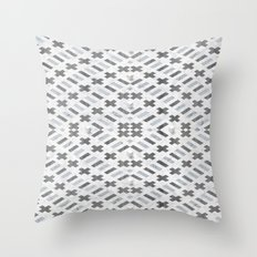 Digital Square Throw Pillow