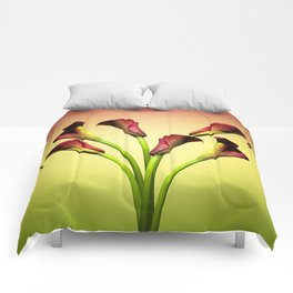 flowers forever Comforters