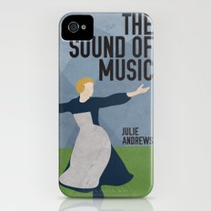The Sound of Music Staring Julie Andrews iPhone (4, 4s) Slim Case
