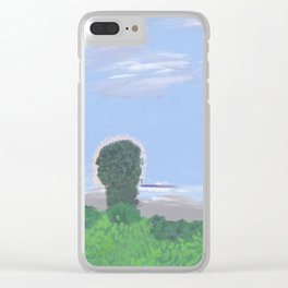 Balmy Summertime Clear iPhone Case