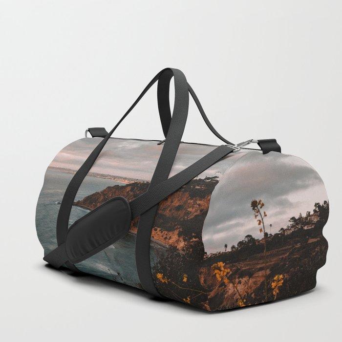 California Coastline Sunset II Duffle Bag