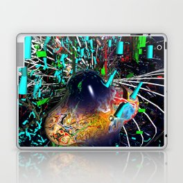 mirrored zygote event Laptop & iPad Skin
