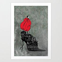 Kestra's Shoe Art Print