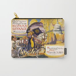 Women's March On Washington, Votes For Women, Women's Suffrage Carry-All Pouch