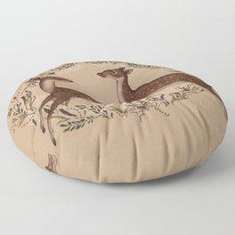 Jumping Deer Floor Pillow