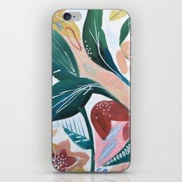 Botanical Green Leaf Jungle iPhone Skin