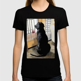Ajax Watches the World Go By T-shirt