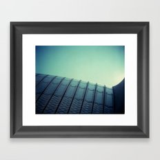 Opera House Framed Art Print