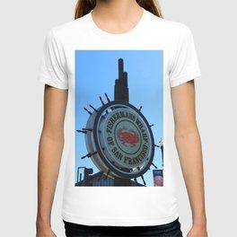 Fisherman´s Wharf Sign T-shirt