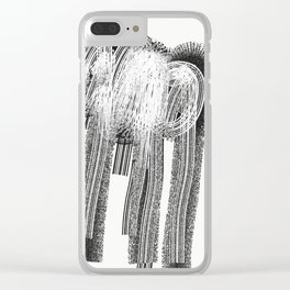 Loneliness Fears 22 Clear iPhone Case