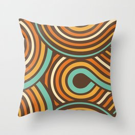70's Seth Throw Pillow