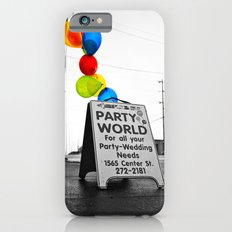 Rainy day party Slim Case iPhone 6s