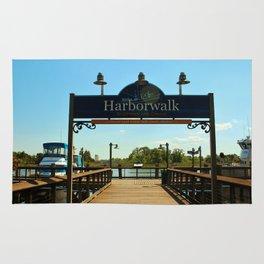 Harborwalk Sign Rug