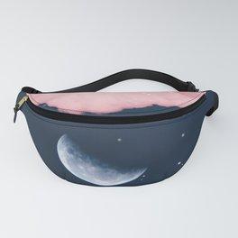 Falling moon Fanny Pack
