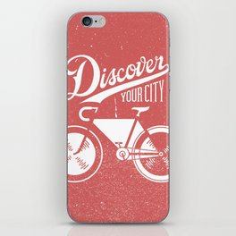 Discover Your City iPhone Skin