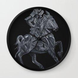 An Angry Wind Wall Clock