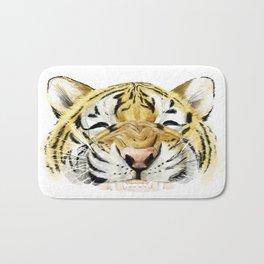 Happy Tiger Bath Mat