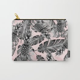 Leaves and pineapples pattern Carry-All Pouch
