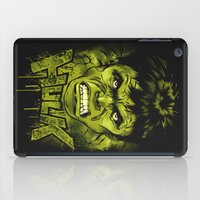 hulk iPad Cases featuring HULK by dan elijah g. fajardo