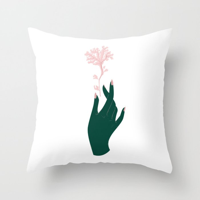Straight from the Sea Throw Pillow