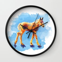 Little Horse Wall Clock