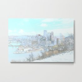 Downtown Pittsburgh 1 Metal Print