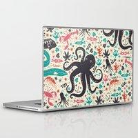 micklyn Laptop & iPad Skins featuring Sea Patrol by Anna Deegan