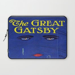 The Great Gatsby vintage book cover - Fitzgerald Laptop Sleeve