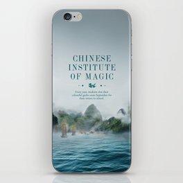 Wizarding Schools Around the World: China iPhone Skin