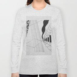 skewed geometric Long Sleeve T-shirt